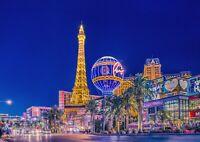 A1 | Las Vegas Nevada Poster Art Print 60 x 90cm 180gsm America USA Gift #12588