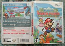 Super Paper Mario Nintendo Wii Game No Manual W/ Bad Disc, Will Not Read AS-IS