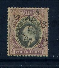 Southern Nigeria EV11 10/- wmk Crown CA Fine Used