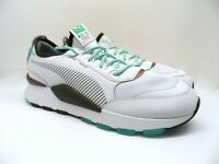 PUMA Men's RS-0 x Emory Jones Athletic Fashion Shoe White/Biscay Green 13M