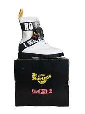Dr Martens Sex Pistol Backhand Boots uk10 eur45 New & Boxed