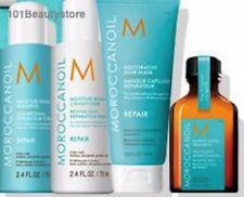 Moroccanoil Repair Takes Flight Set (MoistureRepDuo2.4oz,RestoreMask,LightTreat.