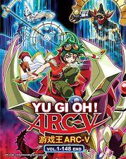 Anime DVD: Yu Gi Oh! Arc-V (1-148 End)_Good English Sub_All Region_FREE SHIPPING