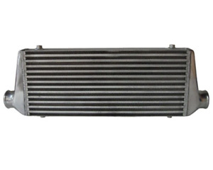 Cooling Pro Bar & Plate Intercooler - 600 x 250 x 76mm 2.5 Outlets