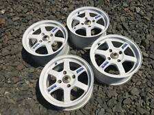 "Rare Rays Volk Racing TE37 15"" R15 4x114,3 7J Mugen Spoon CE28 wheels JapanRims"