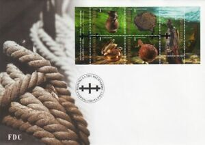 Treasures In Wrecks Gulf Of Finland Baltic Sea Relief Mint Sheet FDC 2004