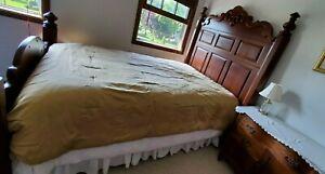 """Comforter Quilt Bedspread Gold Full/Queen: 84"""" x 92"""""""