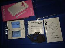 Nintendo DS Lite Susan G Komen Pink Ribbon Limited Edition CIB + BONUS PROTECTOR