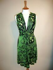 TRAFFIC PEOPPLE WOMENS GREEN DRESS - SIZE M - 12 / 14 - BRAND NEW WITH TAGS