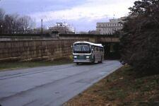 Dc Transit Flxible bus Kodachrome original Kodak slide