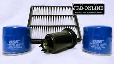 PAJERO 3.5L PETROL 6G74 2x OIL FUEL AIR FILTER SERVICE KIT MAJOR 1993-2000