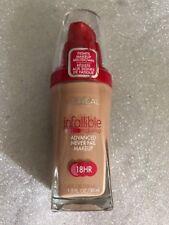 L'oreal Infallible Advanced Never Fail Makeup SPF 20 Sand Beige 612 1 FL Oz (30