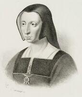 DUCARME (19. Jh.), Katharina von Aragon, Lith.
