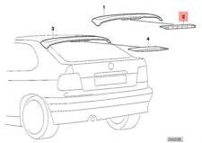 Genuine BMW E31 E36 Cabrio Compact Stoplamp Rear Spoiler OEM 63252489862