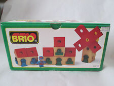 1996 Brio Wooden Railway System BUILDING KIT Windmill House Figure Flat #33710