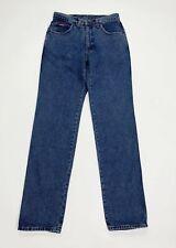 Carrera jeans uomo usato denim W32 tg 46 vintage gamba dritta boyfriend T4914