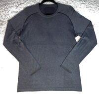 Lululemon Mens Heathered Gray Metal Vent Tech LS Shirt Top Yoga Gym - Medium M
