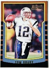 2000 Bowman #236 Tom Brady Rookie Reprint - Mint - New England Patriots