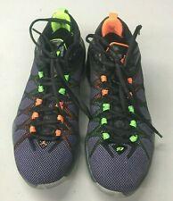 Nike Air Jordan CP3 ViiiYouth Sneakers 7Y  Black/lime Green/ Orange (725174-045)