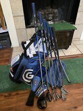 Cleveland CGJ Kids Youth Golf Set - Wood Hybrid 7,9,S Putter Bag RH - 8-11 Age