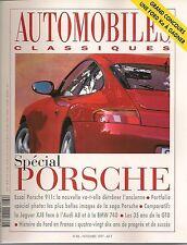 AUTOMOBILES CLASSIQUES 86 PORSCHE 996 AUDI V8 JAGUAR XJ8 BMW 740i DELAGE D8 120