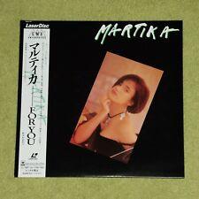 MARTIKA For You - RARE 1990 JAPAN LASERDISC + OBI & INSERT BOOKLET (CSLM 767)