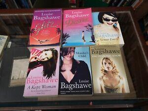 Louise Bagshawe Novels 6 Romance Fiction job Lot