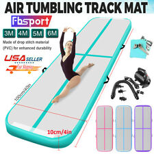 Fbsport 5M 6M Airtrack Air Track Floor Inflatable Gymnastics Tumbling Mat +Pump