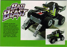PROTOTYPE - THE BAD BEAST Kenner 1993 - Never Released ( The Claw's successor)