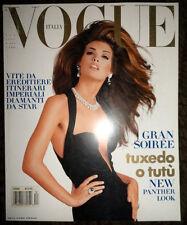 Vogue Italia 1991 Claudia Schiffer Linda Evangelista Naomi Campbell Karen Mulder