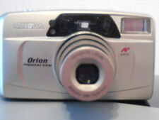 BXD MINOLTA ORION FREEDOM ZOOM DATE FILM CAMERA~SELF TIMER~38-105MM LENS 28AG12