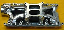 SMALL BLOCK FORD 260 289 302 ELIMINATOR Polished ALUMINUM INTAKE MANIFOLD SATIN