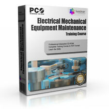 Mechanical Maintenance Engine Gas Turbine Reapir Training Course PC CD