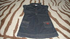 BOUTIQUE JACADI 2A 2T DENIM JEAN DRESS
