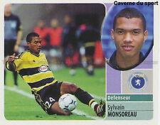 SYLVAIN MONSOREAU # ROOKIE FC.SOCHAUX VIGNETTE STICKER  PANINI FOOT 2003