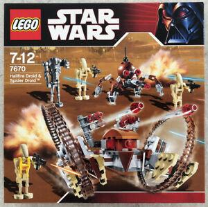 LEGO STAR WARS (7670) - HAILFIRE DROID - BRAND NEW!! - NISB!!
