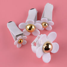 4Pcs Car Air Vent Flower With Clip Solid Fragrance Vent Perfume Air Fresh New