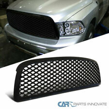 Dodge 09-12 Ram 1500 Pickup Glossy Black ABS Mesh Upper Front Hood Grill Grille