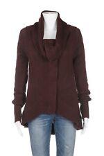 MODA INTERNATIONAL Cardigan Sweater Small Wool Blend Knit Button Down