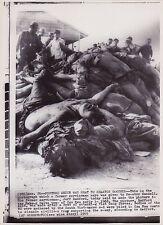 JEFF RADFORD Viet Cong Casualties Vietnam War RARE VINTAGE 1969 press photo*RARE