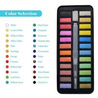 24 Color Watercolor Paint Set With Brush Oil Painting Water Colour Pigments Set#