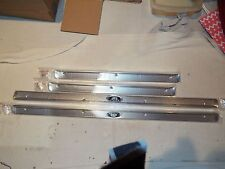55 1955 1956 1957 CHEVROLET BEL AIR, 210 4 DR SEDAN OR WAGON CARPET SILL PLATES