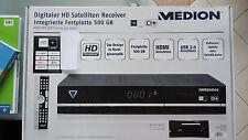 MEDION MD 26004 (500 GB) Festplatten-Recorder Singlerec. mit HD+ Karteneinschub