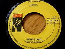 "Frederick KNIGHT-Difficulté 7"" vinyle"