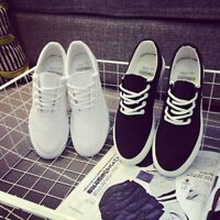 US Men's Casual Canvas Sneakers Flats Shoes Sports Outdoor Breathable Oxfords