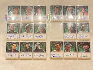 OUTER LIMITS COMPLETE SET OF AUTOGRAPHS A1-A22, NIMOY AND ,ANY OTHERS, ALL NMT