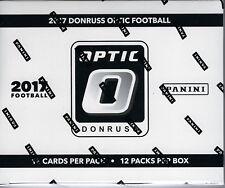 2017 Panini Donruss OPTIC Football NFL Trading Cards 12pk Retail FAT PACK Box FS