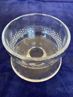 Waterford Colleen Short Stem Cut Footed Dessert Bowl Vintage Crystal Ireland