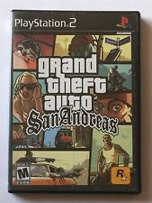 Ps2 Playstation 2 - Grand Theft Auto San Andreas - Complete - tested