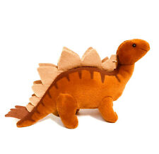 "Dakin Stegasauras Dinosaur 9"" Plush Stuffed Animal Brown"